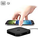 qi inalámbricas cargador de la almohadilla de 2 puertos de carga USB para Samsung HTC LG Nokia nexo