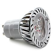 4W GU10 Focos LED MR16 3 LED de Alta Potencia 270 lm Blanco Cálido AC 85-265 V