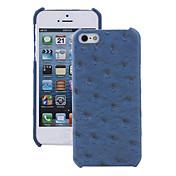 Para Funda iPhone 5 Diseños Funda Cubierta Trasera Funda Azulejos Dura Cuero Sintético iPhone SE/5s/5
