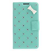 용 Samsung Galaxy Note 카드 홀더 / 크리스탈 / 스탠드 / 플립 / 패턴 케이스 풀 바디 케이스 3D카툰 캐릭터 인조 가죽 Samsung Note 3