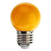 1w e27 llevaron los bulbos del globo g45 7dip llevó 90 lm refrescan blanco / azul / amarillo / verde / rojo ac 220-240 v