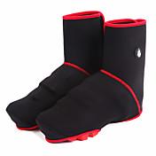 신발 커버 자전거 방수 보온 방풍 초경량 재질 빛반사 스트립 남녀 공용 SBR