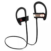 Q7 무선 헤드폰에서 귀 소음은 아이폰 SUMSUNG 휴대폰 용 마이크와 sweatproof 이어폰 헤드셋을 취소