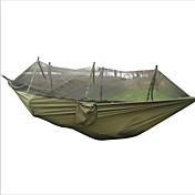 Hamaca para camping con red antimosquitos A Prueba de Humedad Portátil A prueba de insectos Transpirabilidad para Caza Senderismo Camping