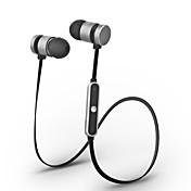 Cwxuan® adsorción magnética bluetooth inalámbrico deporte metal in-ear auricular con mic / control de volumen