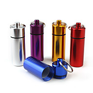 Podróżne pudełko/pojemnik na leki Przenośny na Niezbędniki podróżne do nagłych wypadkówSilver Purple Czerwony Niebieski Golden