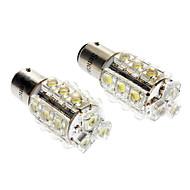 1157 BA15D (1142) Carro Branco 6000-6500 Luz de Sinal de Direcção Luz de Travão