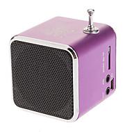 Dyski przenośne 45mm Jednostka USB i Micro SD / TF Metal Speaker Stereofoniczny funkcji radia FM na iPhone i inne (różne kolory)
