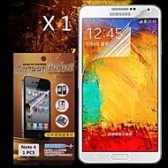 védő HD képernyővédő fólia Samsung Galaxy Note 4