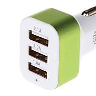 încărcare seria 5.1A 3 Adaptor USB încărcător de mașină