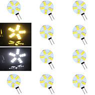 G4 - 5 Bipin verlichting ( Warm Wit/Koel wit 500-800 lm- AC 12 V- 10 stuks
