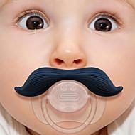 szilikon csecsemő baba gyerek cumi mellbimbók bajusz szakáll