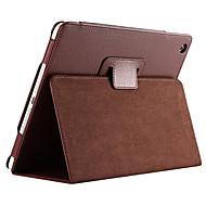 feste Farbe Ganzkörper-PU-Ledertasche mit Ständer für iPad 4 3 2