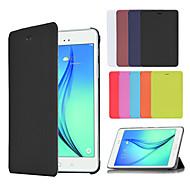 zakelijke slimme pu lederen cover van het boek case voor Samsung Galaxy Tab een 8,0 T350 / tab een 9,7 T550 (verschillende kleuren)