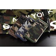 Voor Samsung Galaxy hoesje Schokbestendig hoesje Achterkantje hoesje Camouflage Kleur PC Samsung J1 / Grand Prime / E7 / E5 / Core Prime