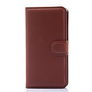 Mert Samsung Galaxy tok Pénztárca / Kártyatartó / Állvánnyal / Flip Case Teljes védelem Case Egyszínű Műbőr SamsungXcover 3 / Grand Prime