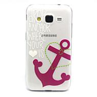 Mert Samsung Galaxy tok Átlátszó Case Hátlap Case Horgony TPU Samsung Core