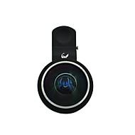 oldshark 235 graden universele clip-on super fish eye lens voor iphone Samsung moblietelefoon