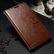 Varten Samsung Galaxy Note Korttikotelo / Lomapkko / Tuella / Flip Etui Kokonaan peittävä Etui Yksivärinen Tekonahka Samsung Note 3