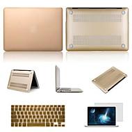 best verkopende effen kleur aluminium macbook tas met toetsenbord deksel en het scherm flim voor MacBook Pro 15.4 inch