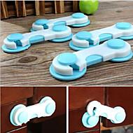 4db baba gyerek box fiókos szekrény szekrény szekrény ajtaját hűtőszekrény széf biztonsági kapcsoló véletlenszerű szín