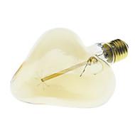 youoklight® E27 40w edison glødelampe glødetråd lys retro vintage lampe stjerne / hjerte form pære (AC220-240V)