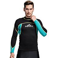 SBART® 남성의 2mm 잠수복 잠수복 상의 보온 압축 탁텔 잠수복 다이빙 복 수영복 티셔츠 탑스-다이빙 파도타기 스노쿨링