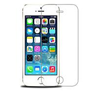 2.5d első és hátsó prémium edzett üveg képernyő védőfólia iPhone 5 / 5S (0.26mm)