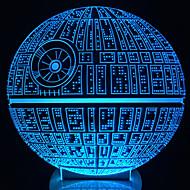 깨어 난다! 스타 워즈에 대한 멀티 죽음 스타 테이블 램프 차원 죽음 스타 bulbing 빛