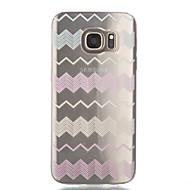 Na Samsung Galaxy S7 Edge Przezroczyste / Wzór Kılıf Etui na tył Kılıf Linie / fale Miękkie TPU Samsung S7 edge / S7 / S6 edge / S6 / S5