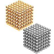 Mágneses játékok 432 Darabok 3MM Magnetic Balls 216PCS *2,Golden&Silver 2 Color Mixed in 1 Box,Diameter 3 MMStresszoldó Barkács készlet