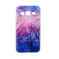 Samsung galaxy j7 j5 kotelointi duskwood maalattu kuvio tpu materiaali puhelinkotelo