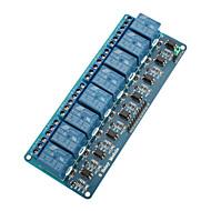 8-kanals 5v relemodul styret for (for arduino) (fungerer med offisiell (for Arduino) brett)