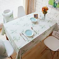 Dikdörtgen Desenli Masa Örtüleri , Pamuk Karışımı Malzeme Otel Yemek Masası Tablo Dceoration