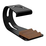 Paifan horloge stand voor appelwatch serie 1 2 ipad iphone 7 6 plus 5 5s 5c metaal all-in-1 stand 38mm / 42mm kabel niet inbegrepen