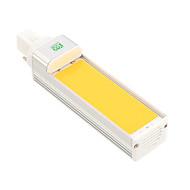 9W G24 LED kukorica izzók 1 COB 800-900 lm Meleg fehér Hideg fehér Dekoratív AC 85-265 V 1 db.