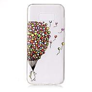 Για Θήκες Καλύμματα Διαφανής Ανάγλυφη Με σχέδια Πίσω Κάλυμμα tok Μπαλόνι Μαλακή TPU για Samsung S8 S8 Plus S7 edge S7