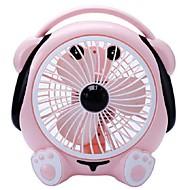 Kleine Fan-Büro zu drehen Seiten Fan stumm 220 v Musik niedlichen Hund Desktop-Fan