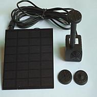 Akwaria Pompy wodne Sztuczne Z włącznikiem (włącznikami) Korygujący Bezgłośne Na energię słoneczną Nietoksyczne i bez smaku Plastik 1.4W