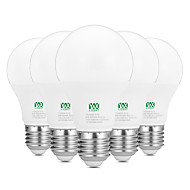 9W E26/E27 LED Λάμπες Σφαίρα 18 SMD 2835 800-900 lm Θερμό Λευκό Άσπρο Διακοσμητικό AC100-240 V 5 τμχ