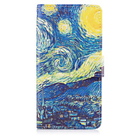 Voor Samsung Galaxy S8 Plus S7 Randcase Cover de sterrenhemelpatroon pu lederen cases voor S6 Rand plus S5 Mini S4 S3