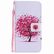 For huawei p10 pluss p10 lite case deksel kortholder lommebok med stativ flip mønster full body tilfelle treet hard pu lær p10 p8 lite