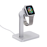 Coteetci horloge stand voor appelwatch serie 1 2 aluminium stand 38mm / 42mm kabel niet inbegrepen
