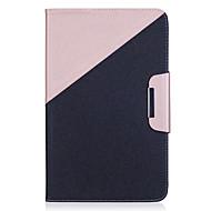 Voor Samsung Galaxy Tab een 10,1 (2016) tab een 9.7 case cover de nieuwe hit kleur pu huid materiaal samsung vlak beschermende shell tab e