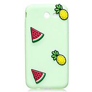 Przypadku samsung galaxy j3 j5 pokrowiec cover watermelon pineapple deseń kolor owoców tpu materiał diy phone case j7