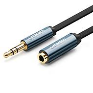UGREEN 3.5mm의 오디오 잭 연장선, 3.5mm의 오디오 잭 to 3.5mm의 오디오 잭 연장선 Male - Female 2.0M (6.5Ft)