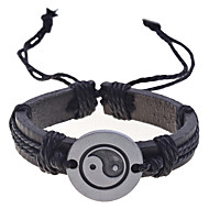 Herre Charm-armbånd Læder Armbånd Unikt design Mode kostume smykker Læder Smykker Smykker Til Daglig Julegaver