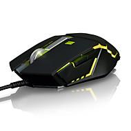 Ajazz gtc 7keys 2000dpi usb pozadinsko svjetlo otežava igre miš s 170cm kabelom a5050
