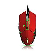 ajazz gtc pro 7keys 4000dpi usb pozadinsko svjetlo otežava igre miš s 170cm kabelom a3050