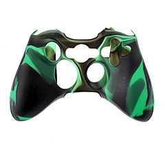 Langaton ohjain Silikonikotelo Xbox360 (Green)
